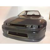 Bolha Nissan Silvia S13 Pintada P/ Automodelo 1/10 200mm