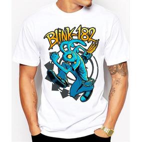 Playeras Panda Xd Logo Blink-182 Conejo Huyendo