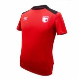 Camiseta Umbro Santa Fe Pro Bench Roja