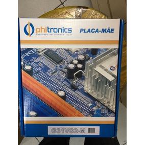 Placa Mae 775 Phitronics G31vs-m G31 Ddr2 4sata Pcie Fsb1333