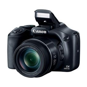 Câmera Digital Canon Sx530 Hs 16mp, Zoom 50x, Filma Em Full