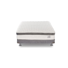 Colchón Americana De Colchones Confort Gris Semidoble120*190