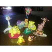 Muñecos P/ Torta En Porcelana Fria, Lote Por 10 Animalitos