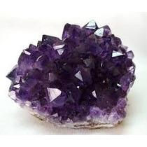 Drusa Ametista 5cm/gema Natural Bruta Pedra Lilás Proteção !