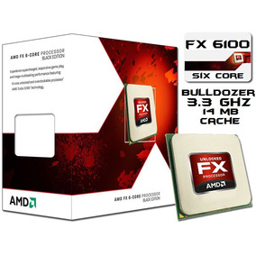 Pc Gamer Cpu Amd Fx 6100 X6 3.3ghz Vendo O Cambio