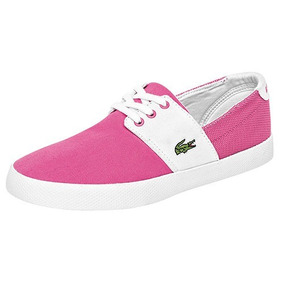 W69739 Padrisimos Tenis Lacoste Originales Color Rosa/blan