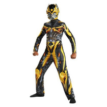 Disfraz Transformers Bumblebee Para Niño Talla L - Amarillo