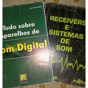 Livros Som Analógico (receivers) E Som Digital