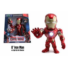 Dtc Toys Metals Diecast Marvel Civil War - Iron Man 15cm