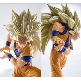 Son Goku Super Sayajin 3 Ssj 3 Dbz 18-20 Cm Action Figure