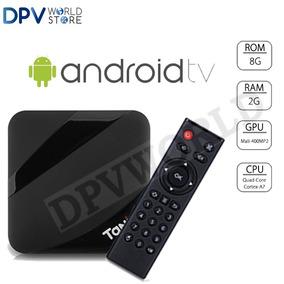 Tv Box Android 7.1 4k 2.4ghz Quadcore 2gb Ram 16gb Almacenam