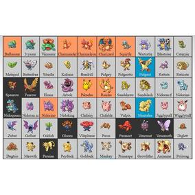 Pokedex 1 Generacion Pokemon en Mercado Libre México