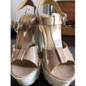04cc21dc364 Tacones Altos Color Beige - Zapatos Mujer Sandalias en Mercado Libre ...