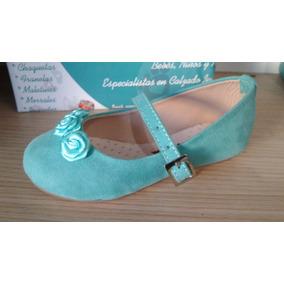 Baletas Para Niñas Angelitos.com - Color Verde Claro
