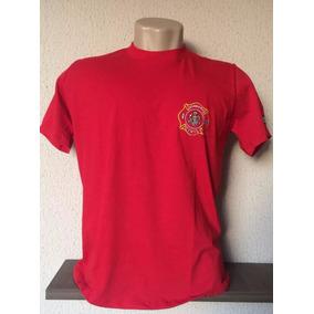 Camiseta Bombeiro Civil- Brasão Bordado
