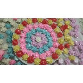 Sabonete Mini Rosas Lembrancinha Rosinha Artesanal 150 Unid