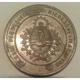Medalla 1884 Iglesia San Nicolas De Los Arroyos Buenos Aires