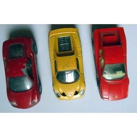 Lote 3 Miniaturas Carro Escala 1/43 - Pintura Desgastada Lt1