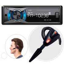 Autostereo X-view Ca 1000 Xs Mp3 Usb Bt Am/fm + Manos Libres