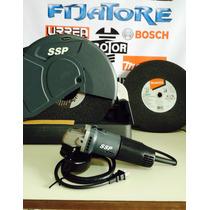 Combo Makita Ssp C/cortadora Y Esmeriladora+discos De Corte