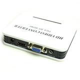 Caja Convertidora De Vga A Hdmi Con Sonido Plug 3.5