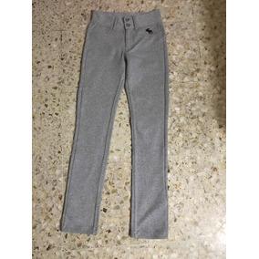 Abercrombie & Fitch Pantalones Pants Pretina Grabado Legging