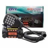 Radio Amador Dual Band Uhf Vhf + Antena E Base