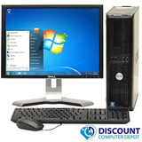 Oferta Pc Dell Intel Core 2 Duo Con Monitor De 17 Completo
