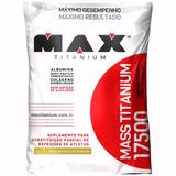 Massa Max Titanium 17500 Refil - 3kg - Max Titanium