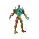 Max Steel Muñeco Morphos Calor Extremo Mattel