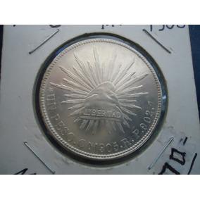 1 Peso Porfiriano,culiacan 1905,rp,superescaso.