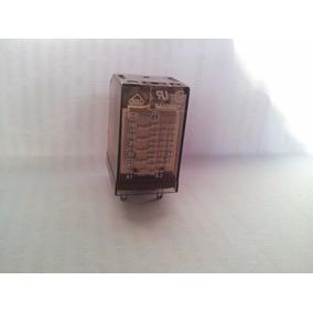 Rele Schrack 14 Pinos Mod Zg 410 720 Para 220 Volts 5 Amp