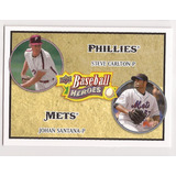 Johan Santana 2008 Ud Baseball Heroes # 183 - Grl