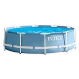 Pileta Intex Estructural Redonda 305x76cm Capacidad 4485 Lts