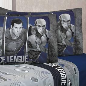 Liga Justicia Ind Sabanas Batman 3pc Nino Superman Justice *