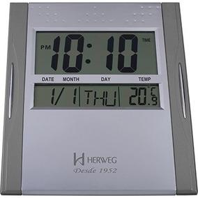 6465865faf9 Relógio De Parede Herweg Digital - Relógios no Mercado Livre Brasil