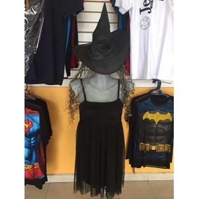 Disfraz Bruja Para Halloween Talla Mediana