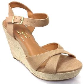Zapatos De Tela Y Taco Chino De Yute - Sandalias de Mujer en Bs.As ... 78f1a75a4d2