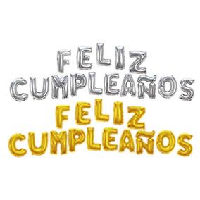 Gobos Metalicos Letras Frase Feliz Cumpleaños Globos Letras