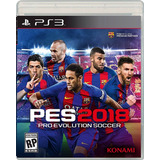 Pro Evolution Soccer Pes 2018 Playstation 3 Ps3 Videojuego