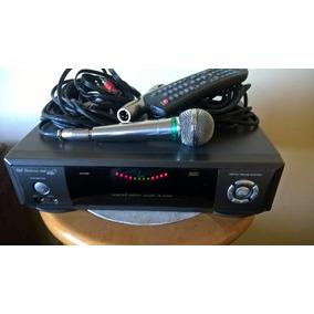 Videoke Raf Eletronic Vmp 7500 Bingo Completo 2 Mic - Usado