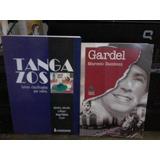 Lote De 2 Libros Sobre Letras De Tango Y Carlos Gardel