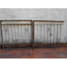 Rejas Artisticas/cerco De Hierro Con Puerta 2 Mt X 0,93cm