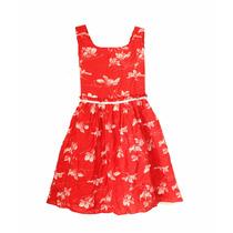 Vestido De Nena De Fibrana Estampado, Brishka N-0064