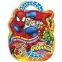 Maleta - Spider-man & Friends (8 Livros + Dvd/cd-rom Com Jog