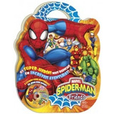 Maleta - Spider-man & Friends (8 Livros + Dvd/cd-rom Com Jog