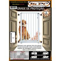 Portão Grade De Proteção Portas Com Extensor 20 Cm