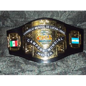 Cinturon De Lucha Libre Cmll P/niño Welter Campeon Mundial