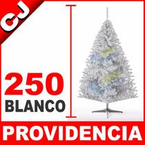 Arbol De Navidad Blanco Mate 250 Providencia Envio Inmediato