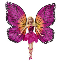 Barbie Mariposa Y La Muñeca Princesa De Hadas